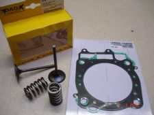 PROX Steel KXF 250 04-05 RMZ 250 04-06 Inlet Valves/Springs Kit Head Base Gasket